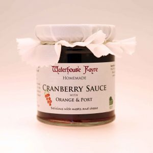 Cranberry Sauce with Orange & Port