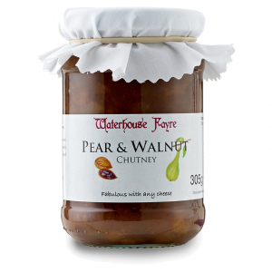 Pear & Walnut Chutney