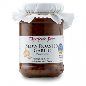 Slow Roasted Garlic Chutney