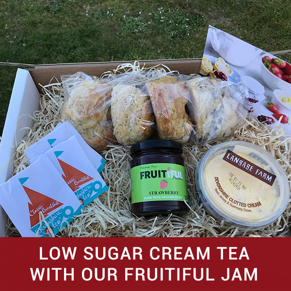 Low Sugar Cream Tea