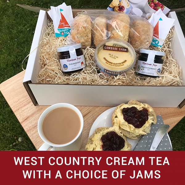 WEST COUNTRY CREAM TEA (WITH JAM SELECTION)